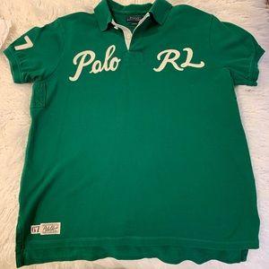 100% AUTHENTIC POLO BY RALPH LAUREN.  COTTON MESH